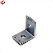 Estante de metal personalizado L Soportes de esquina Soportes angulares de acero galvanizado