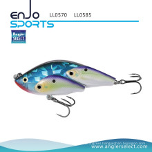 Angler Select School Fish Lipless Fishing Product Tackle Lure with Bkk Treble Hooks (LL0570)