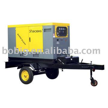 Reboque diesel gerador