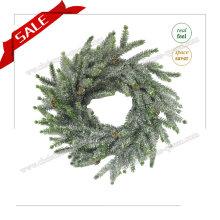 H30-H48cm Weihnachtskünstlicher Kranz mit Schnee Weihnachtsbaum Feiertags-Dekoration