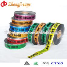 Elegant and sturdy underground detectable warning tape