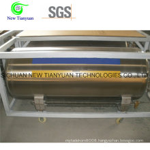Liquid Nitrogen Medium Stainless Steel Cryogenic Cylinder