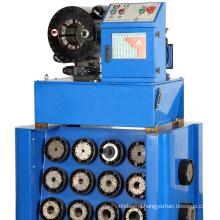 Hydraulic tube crimping machine