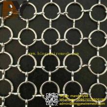 Malha Chainmail em aço inoxidável