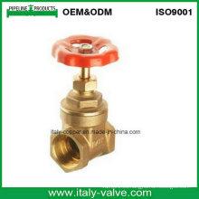 Válvula de compuerta de latón forjada certificada CE (IC-4037)