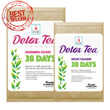 100% Organic Herbal Detox Tea Skinny Tea Weight Loss Tea (28 day program)