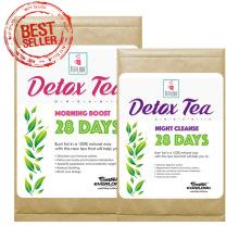 100% chá de desintoxicação erval orgânico chá magro Chá de perda de peso (programa de 28 dias)