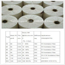 Polypropylene Melt-Blown Filter Media