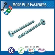 Made In Taiwan Break Off Machine Screw Funnel Head Hi Lo Thread Insex Screw