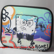 Cute SpongeBob Printing Tablet cubre el neopreno
