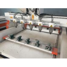 Cilindro multi cabezas máquina de carpintería