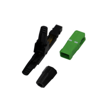 Conector Fiber Optical SC / PC APC de campo para conector Ftth Fusion Splice-On