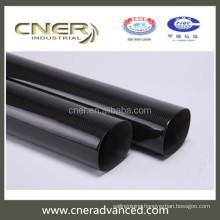Brand Cner 3K weave Carbon Fiber Bent Kayak Paddle Shaft , Carbon Fiber Outrigger Paddle