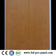 Holz-Design Laminiertes PVC-Wandpaneel Eine Nut 20cm PVC-Verkleidung