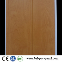 Wood Design Laminated PVC Wall Panel One Groove 20cm PVC Panel