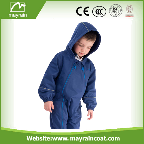 Kids Reflective Tape Rainsuit