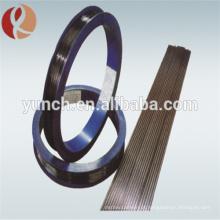 Fabricante de fio de eletrodo de tungstênio de derretimento de tório