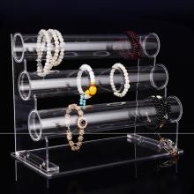 Kundenspezifisches klares Acrylständergestell für Uhr