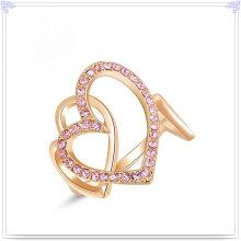 Acessórios de moda Anel de liga de jóias de cristal (AL0008G)