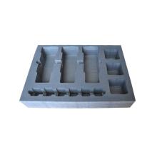 Caja de instrumentos de aluminio con inserto de esponja de espuma
