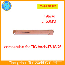 10N23 welding tig torch collet 1.6mm for welding machine
