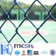 Hot mergulhado galvanizado Cerca Cadeia / PVC Revestido Cadeia Link Fence Preço / Electro Galvanizado Ferro Cerca