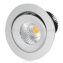 Lampe de plafond en aluminium rond de 15W