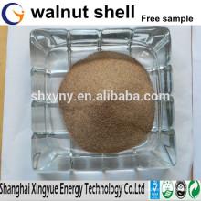 Fournisseur de coquille de noix concassée prix concurrentiel poudre de coquille de noix