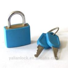 ABS shell latão material pequeno cadeado