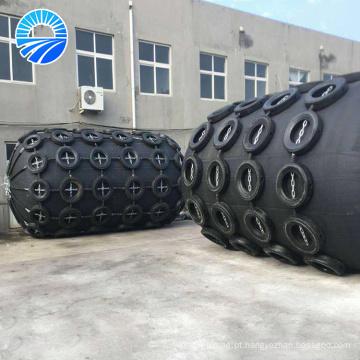Dispositivo anticolisão principal do pára-choque pneumático para aplicações marinhas
