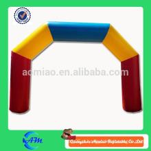 Arco inflável barato à venda arco inflável do casamento arco de revestimento inflável