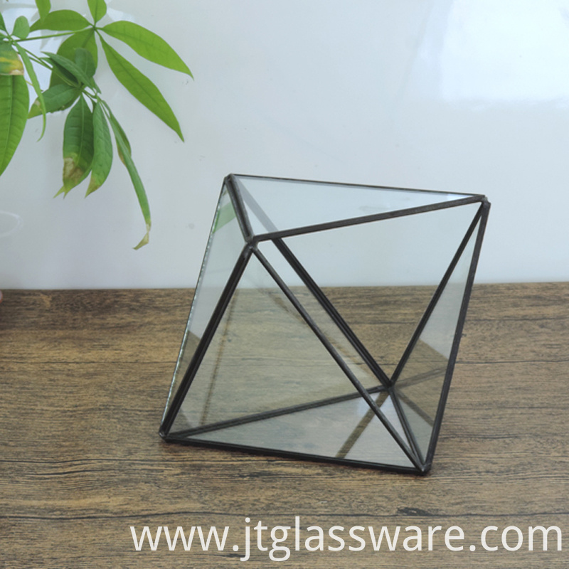 wholesale clear glass vases