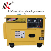 5.0kva silent diesel generator price for kenya POWERGEN Industrial use small Sound Proof diesel generator silent style