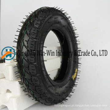 Roda de borracha 3.00-8 pneumática para o trole