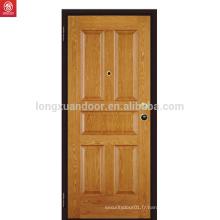 Nouvelle porte intérieure en bois en chêne massif intérieur design
