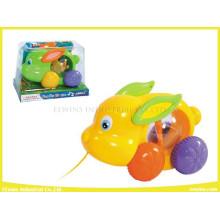 Kabel Spielzeug Hase mit Musik und Lichter Plastikspielzeug