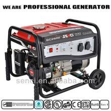 Peso ligero Senci 60Hz 6.5 hp 2.5 kva Generador