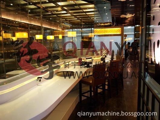 Conveyor Belt In Sushi Duty Industry