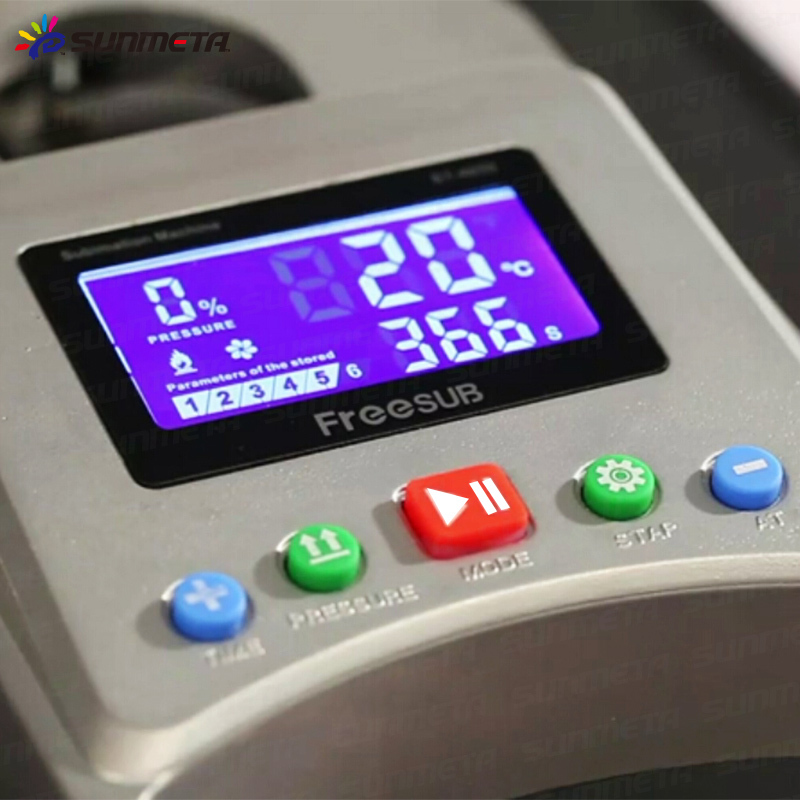 FREESUB Best T Shirt Printing Machine with Hydraulic