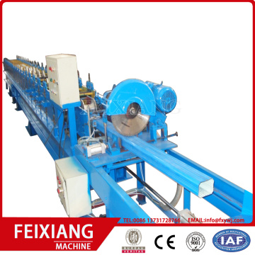 Square downspout pipe machine for water roof
