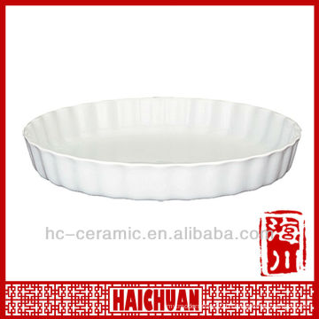 Round Flan Pie Dish