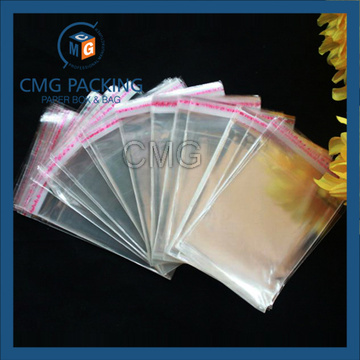 Plastic Clear Printing OPP Bags with Handles (CMG-OPP bag-003)