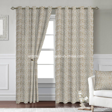 Super Market Bright Yarn Polyester Curtain