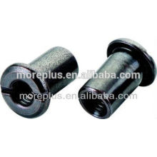 Connector Cap Nuts Furniture Joint Connector Nut Hex Drive Black Zinc Bronze Joint Connector Nuts