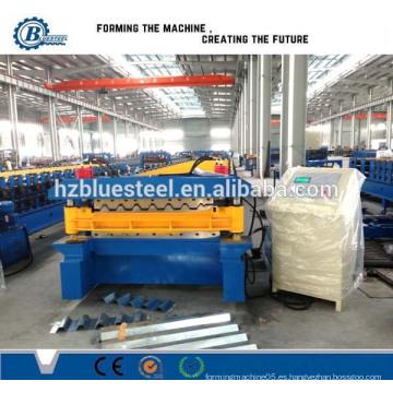 De Aluminio E Inoxidable De Doble Capa Del Panel Del Tejado Que Forma La Máquina, Dos Perfil Del Tejado Que Forma La Máquina