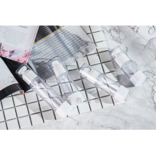 Frasco de spray plástico Frasco de embalagem de cosméticos