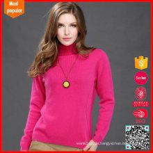 Mode-Kabel Damen Kaschmir Winter Pullover