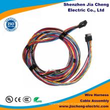 Máquina industrial do conjunto de cabo do chicote de fios do fio de 3 consoles