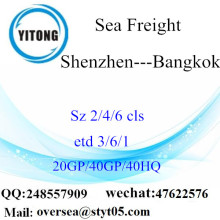 Shenzhen Port Sea Freight Shipping till Bangkok