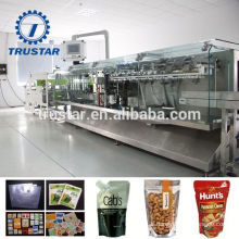 food packaging sterilization reusable spout pouches packing machine